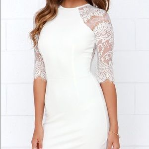 Bb Dakota Princeton Lace Dress Bachelorette Lulus
